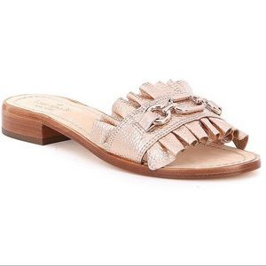 Kate Spade Rose Gold Brie Beau sandals 7.5